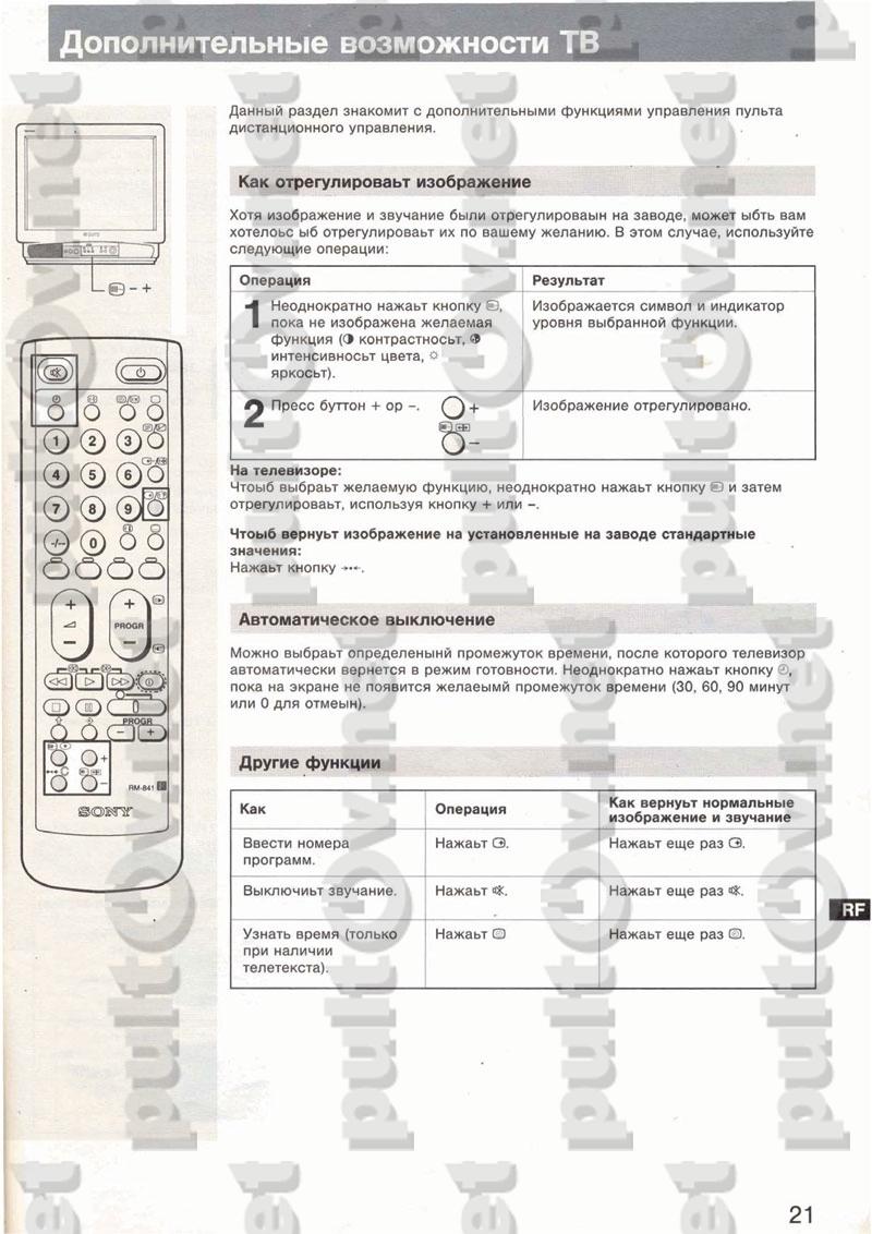Инструкция К Пульту Ду Mak 2002